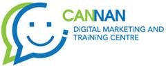 迦南網上推廣及培訓中心 Logo