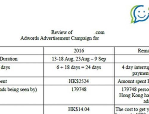 網上廣告例子分享